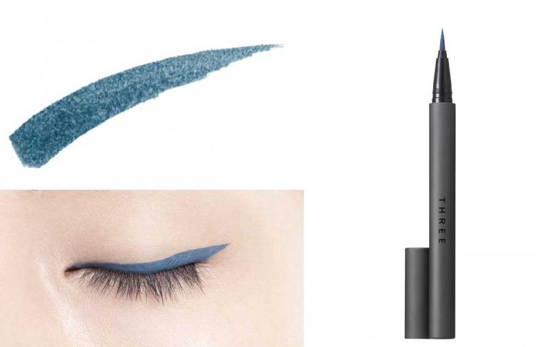 THREE魅光極線抗暈眼線液筆 #07/1,250元。(圖/品牌提供)