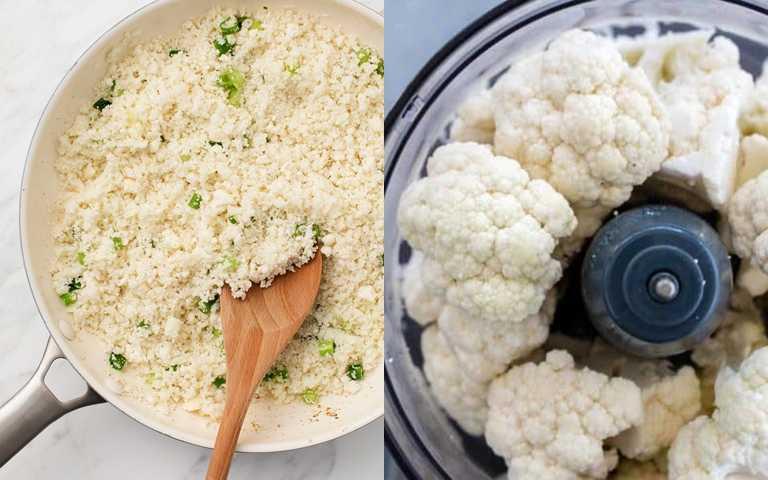 花椰菜飯料理方法超級簡單。(圖/翻攝網路)