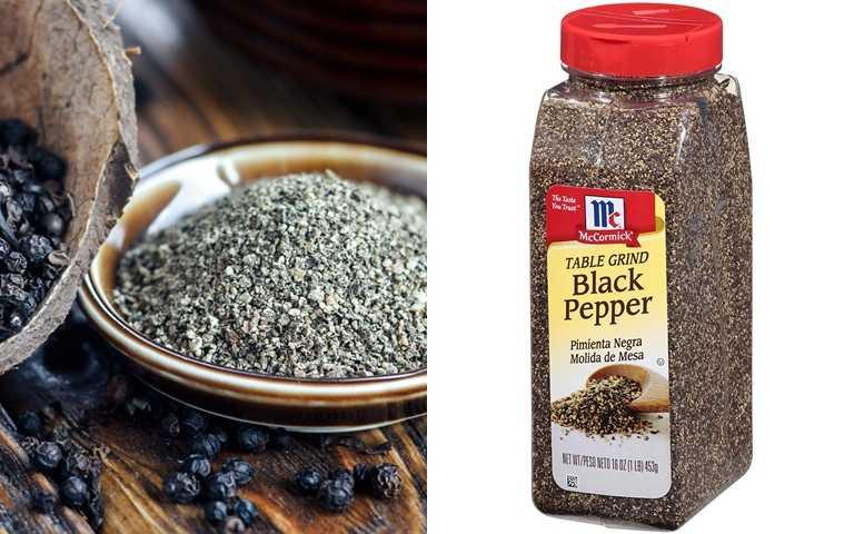少用鹽巴、白胡椒,黑胡椒粒一樣能讓食材有味道而且還可以消水腫,一舉數得!(圖/翻攝網路)
