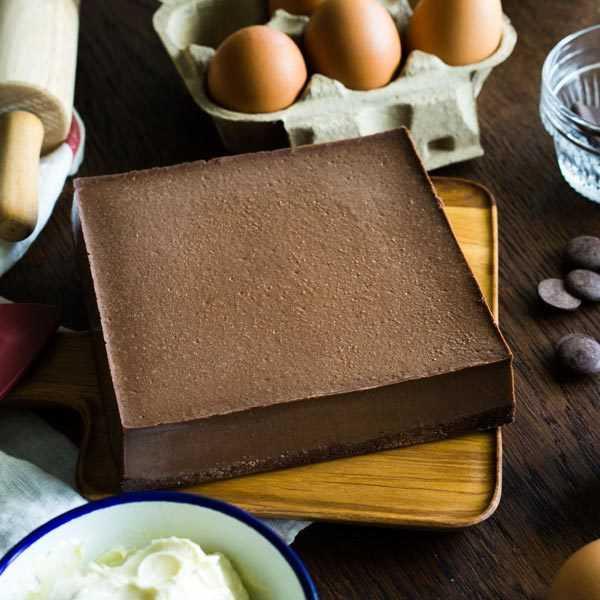 濃情重巧克力起司蛋糕。(圖/ChizUP!提供)