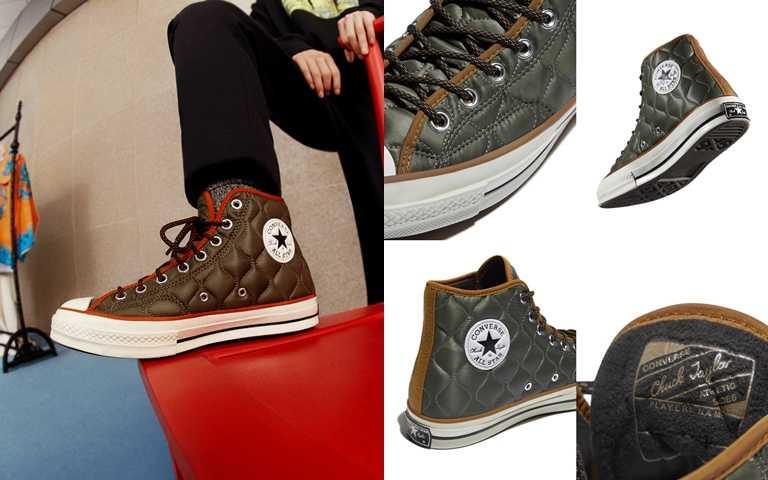 Converse秋冬系列Chuck 70將在本季陸續於指定店點開始販售。(圖/Converse)