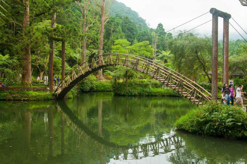 溪頭福華渡假飯店周邊景點--大學池。