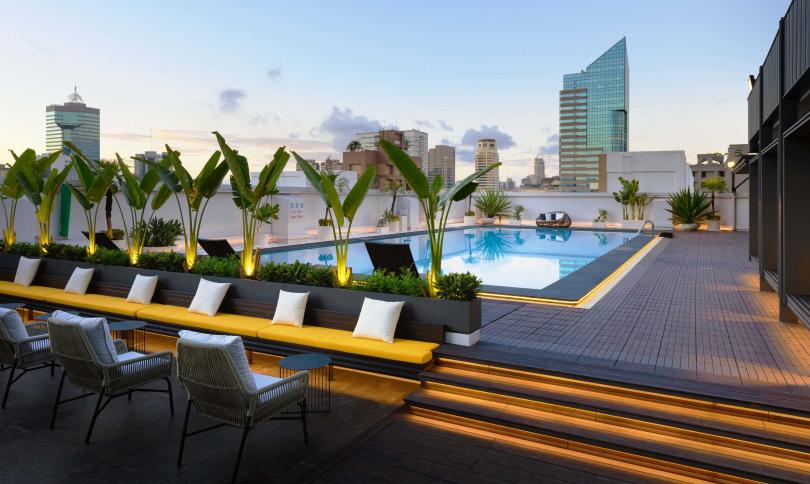 高雄福華大飯店--游泳池。