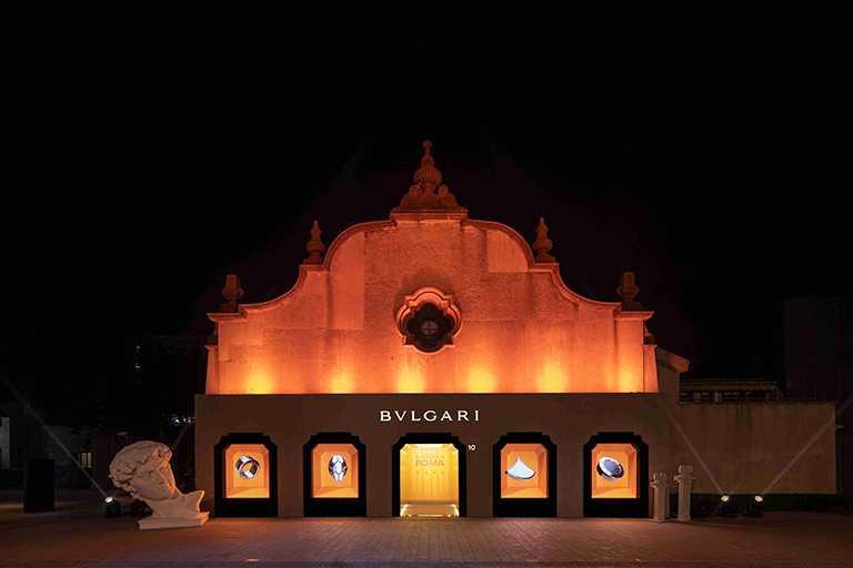 寶格麗《MAGNIFICA ROMA意遊未盡》巡展,於上海「上生‧新所」閃耀開展。(圖╱BVLGARI提供)