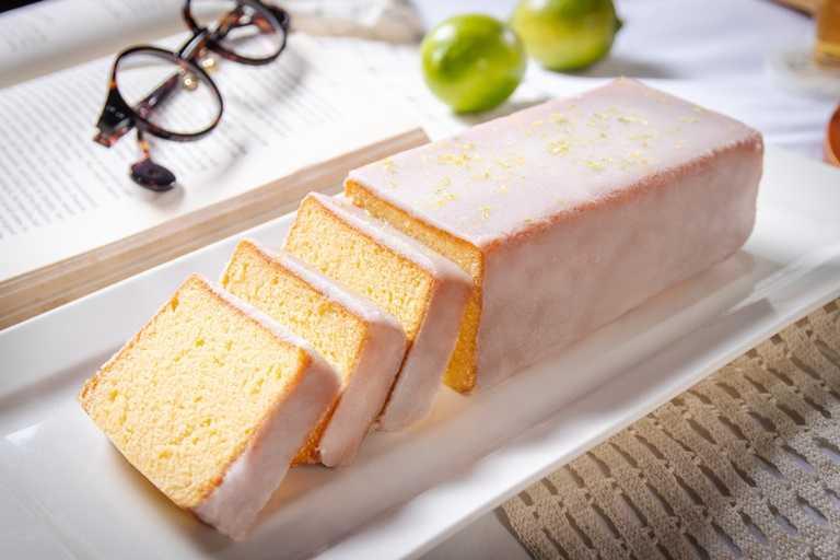 台南遠東香格里拉飯店推出銷售排行榜第一名的「老奶奶檸檬磅蛋糕」,為南法鄉間的家常蛋糕。