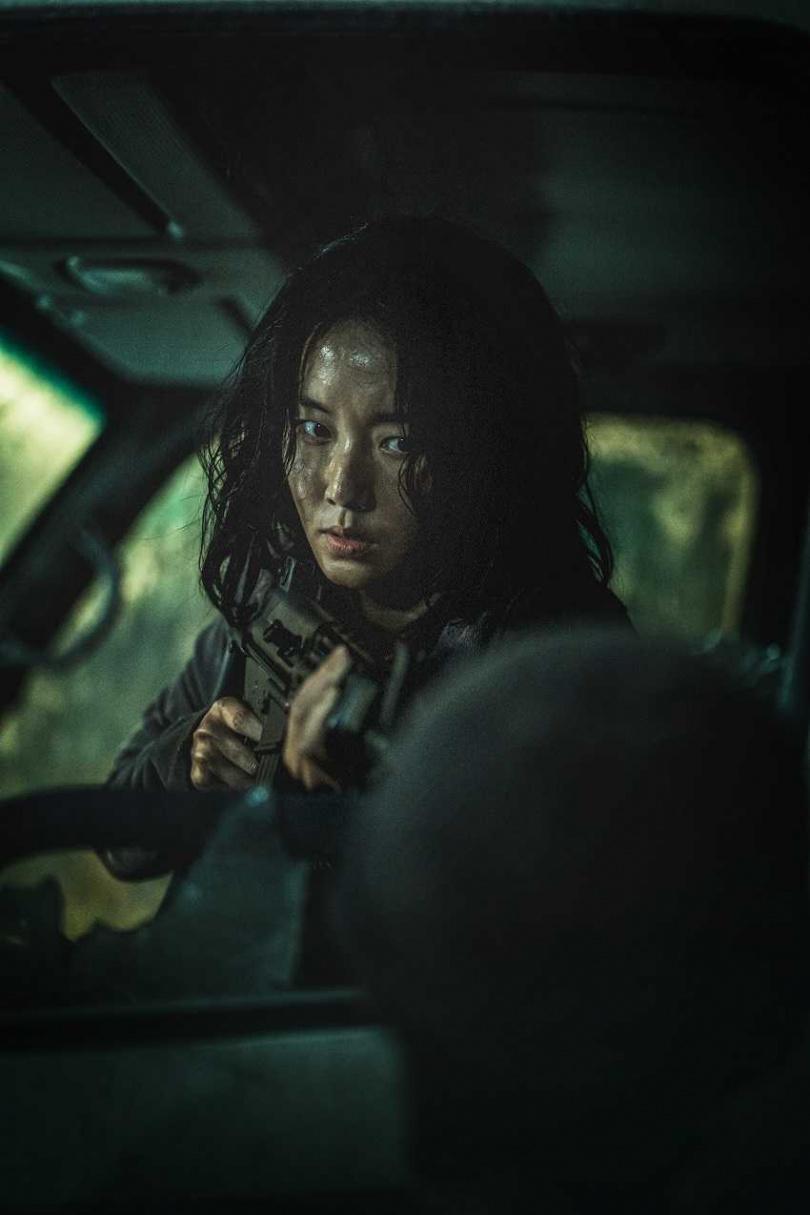 膽大的李貞賢很喜歡喪屍,經常跑去看喪屍化妝。(圖/車庫提供)