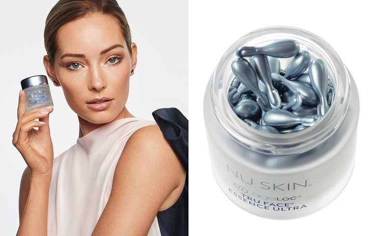 NU SKIN ageLOC®活顏倍彈源液 60顆/5,600元  像是珍珠般的圓潤外型,光用看的也療癒。(圖/品牌提供)