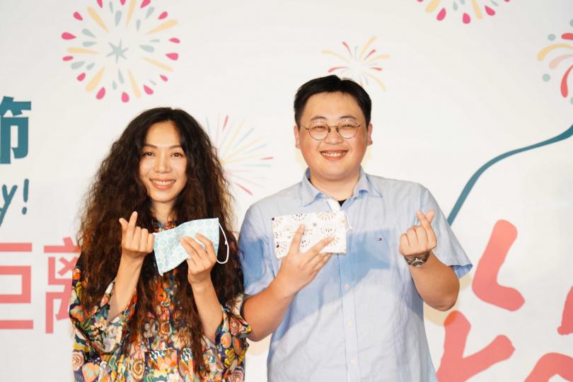活動以「愛沒有距離」為主題,請來萬芳、艾怡良等歌手演唱。(圖/臺北市政府觀光傳播局)