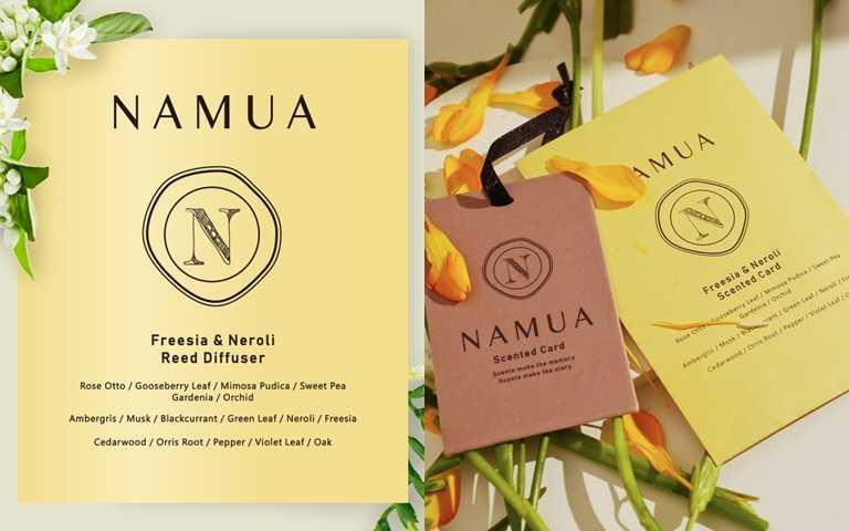 NAMUA小蒼蘭*橙花香氛卡/250元其實香氛吊卡不只能掛衣櫥,聰明的女孩還會把它當成飄香小法寶,在隨身包包裡帶著它。(圖/品牌提供)