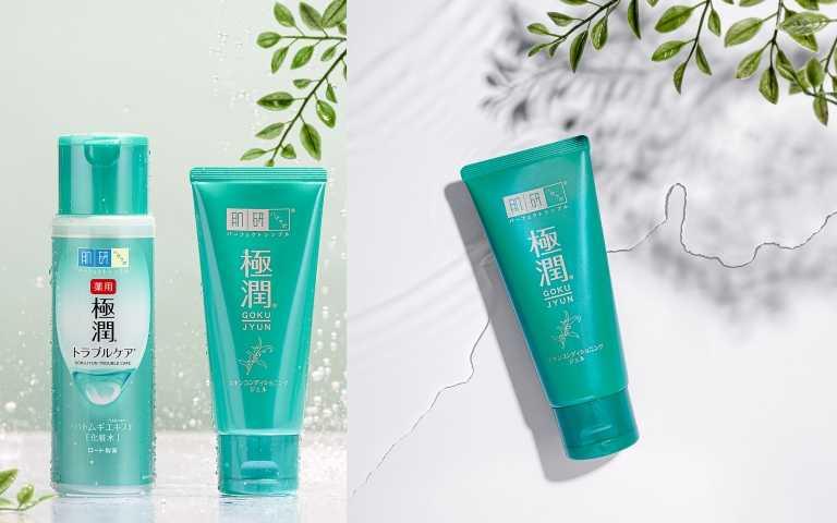 (左)肌研極潤健康化妝水170ml/480元:肌研極潤健康調理凝露90g/650元。(圖/品牌提供)