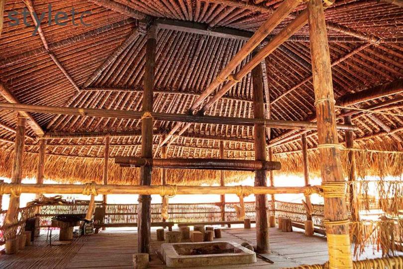 「庫巴」是鄒族人的神聖場域,僅有鄒族男子可以進入。(圖/林士傑攝)