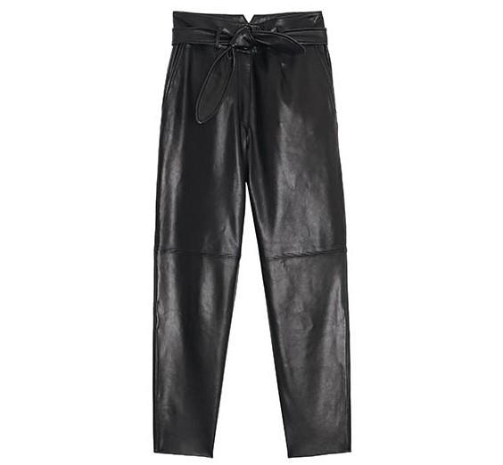 glimmer boutique 黑色皮褲/價格店洽