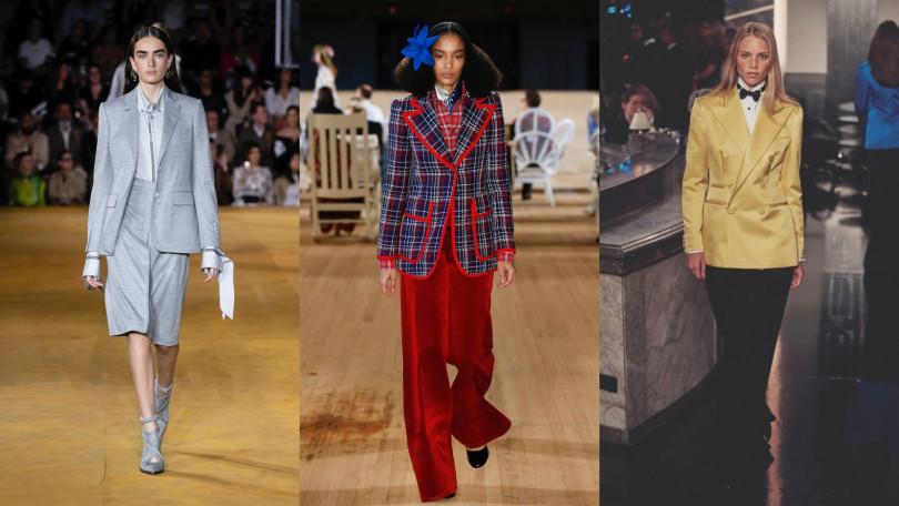 左至右:BURBERRY、Marc Jacobs、Ralph Lauren(圖/品牌提供)