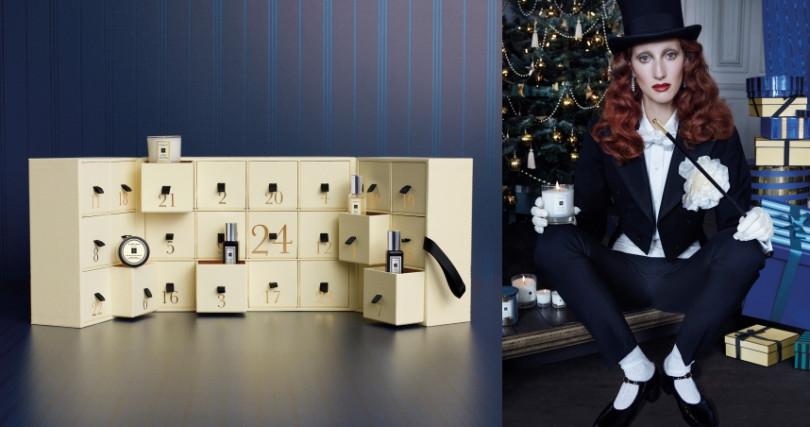Jo Malone London聖誕倒數日曆 NT 16,000 (全台限量300組)(圖/品牌提供)