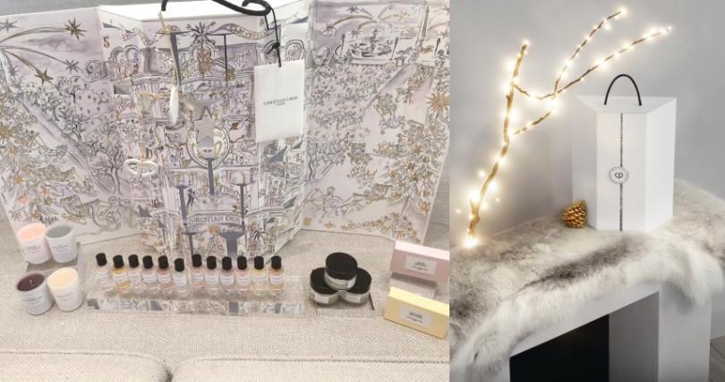 Dior聖誕倒數日曆迪奧香氛世家系列/15,000元)(圖/黃筱婷攝影、品牌提供)