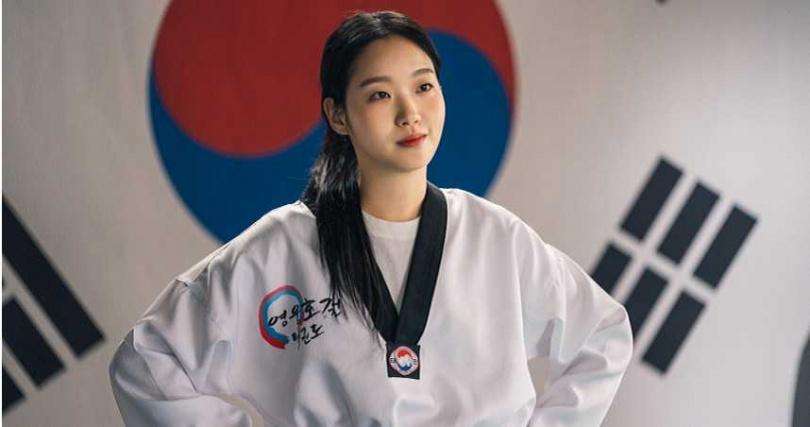 金高銀飾演擅長跆拳道的霸氣女刑警。