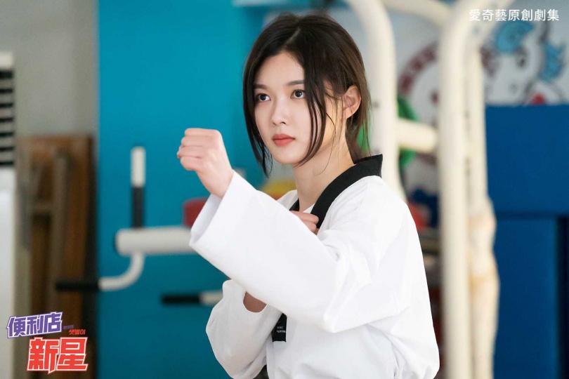 金裕貞親自上陣拍打戲,導演給予她高度評價。(圖/愛奇藝台灣站提供)