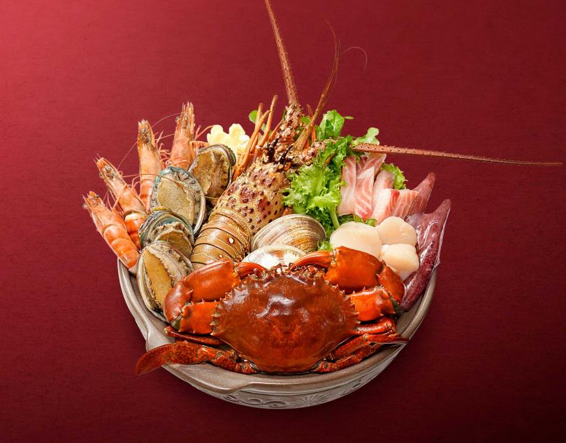 「豪華龍威霸氣鍋」展現豪華澎湃的團圓宴!