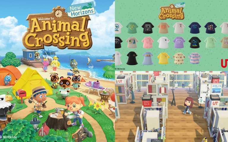 《動物森友會》首度在遊戲中打造一座UNIQLO島,周末揪好友連線一起逛!(圖/品牌提供)