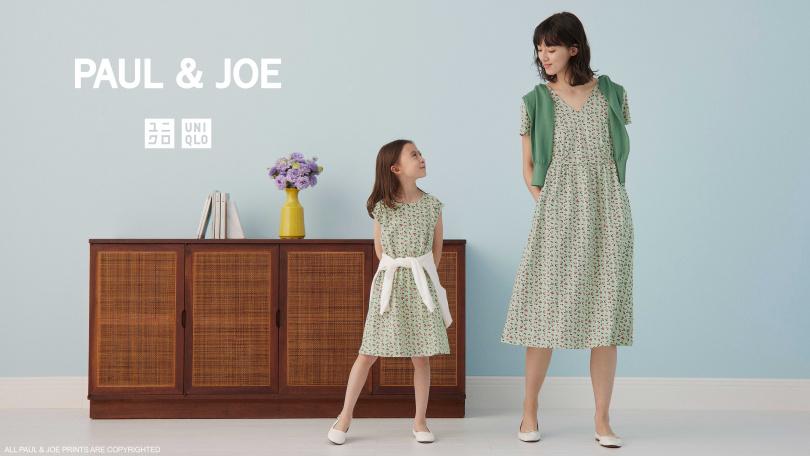 UNIQLO與巴黎時尚PAUL & JOE UT再度聯名。6/14上市(圖/品牌提供)