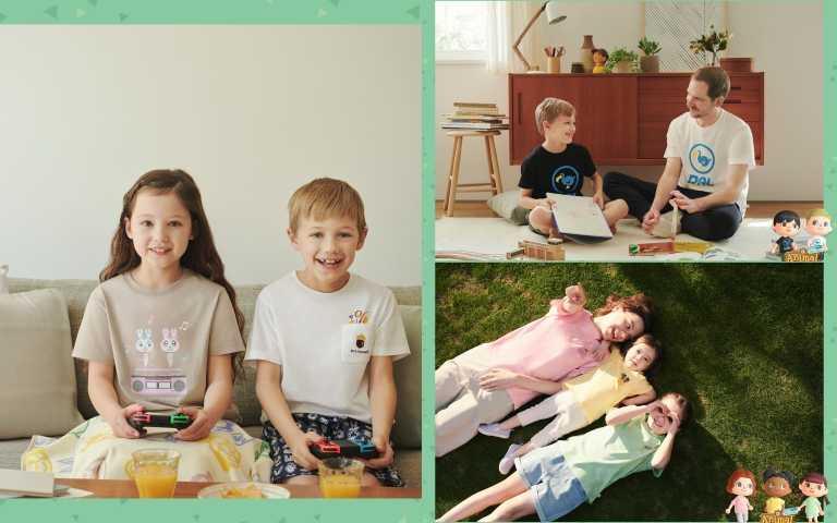 《動物森友會》全系列涵蓋男、女、童與嬰幼兒裝與配件(圖/品牌提供)