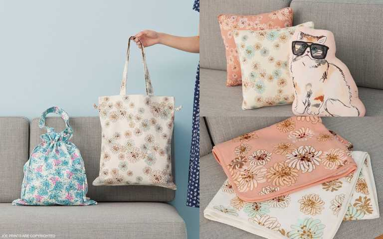 第二彈推出超萌貓咪抱枕等配件,讓宅家生活也充滿法式優雅!(圖/品牌提供)