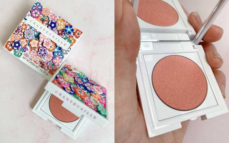 香緹卡夏花綻放頰彩餅 2g/1,850元  自然粉嫩的玫瑰色頰彩,不管任何膚色都適合。(圖/吳雅鈴攝影)