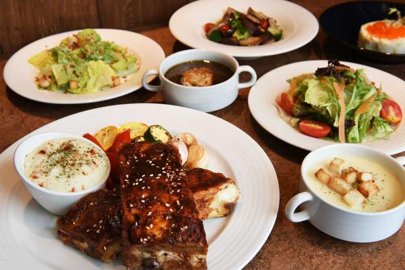 悅.市集全日餐廳推出「海陸饗宴╳套餐吃到飽」,凡用餐可享所有餐點無限續點。(每人980元+10%,圖/台北新板希爾頓酒店提供)