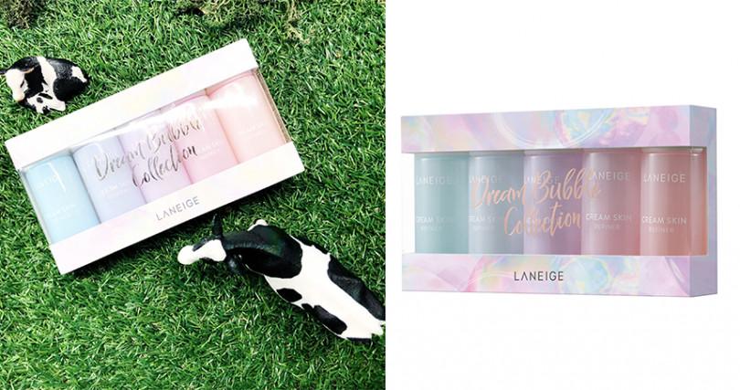 LANEIGE白茶保溼牛奶水禮盒50ml*5/NT1250(圖/品牌提供)