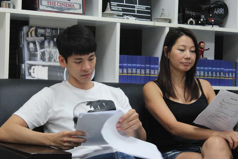 丁寧、林柏宏確定接演何蔚庭導演新電影《青春弒戀》,預計今年五月開拍。(圖/電影《青春弒戀》提供)