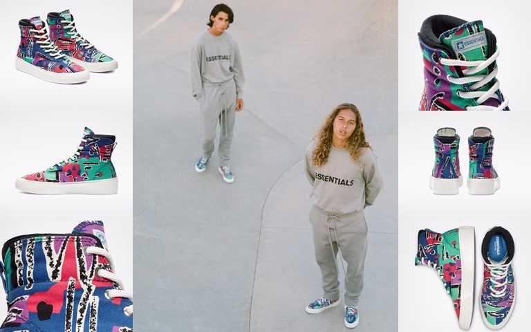 Converse x Fear of God Skidgrip鞋款建議售價為NT3,980,將於8月30日起於指定店點販售。(圖/Converse)