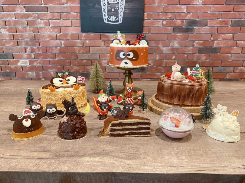 全台85℃門市推出限量聖誕主題蛋糕,就是要萌翻你!