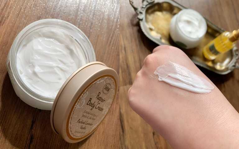 SABON身體保濕潤膚霜200ml/1,580元如果妳跟小編一樣肌膚極度缺水,請一定要試試看它的深層滋養效果。(圖/吳雅鈴攝影)