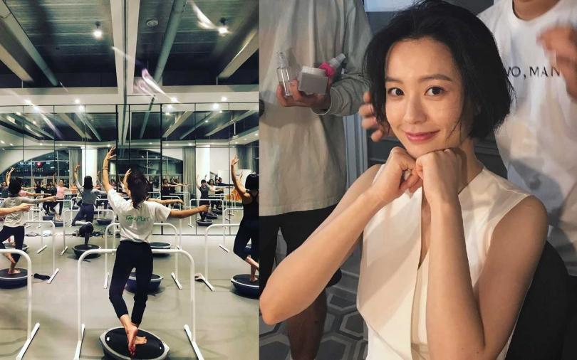 不只是鄭裕美,還有許多韓國女星像是韓佳人、嚴智苑也都是TANZPLAY的粉絲。(圖/翻攝網路、鄭裕美IG)