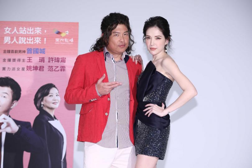 許瑋甯演出過氣影后,與自己個性天差地遠。(圖/彭子桓攝影)