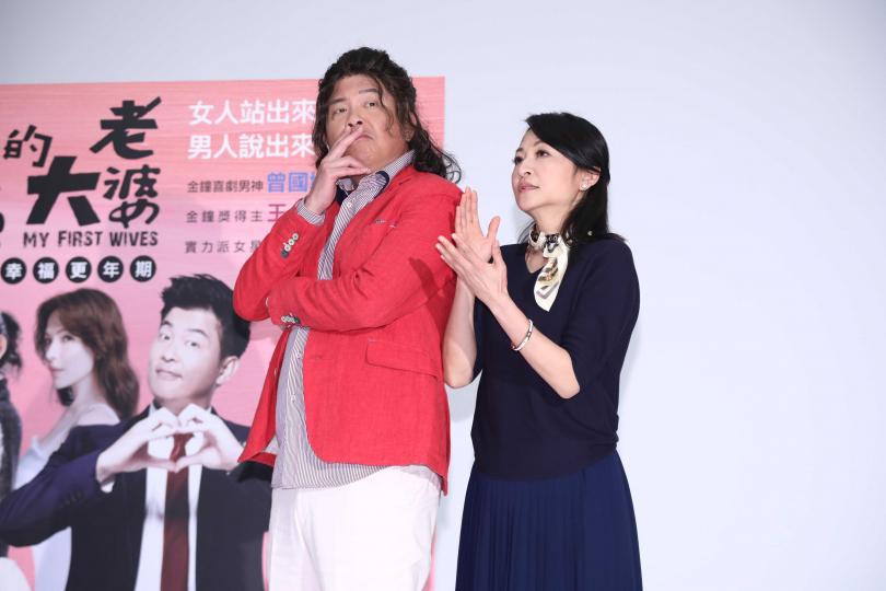 姚坤君劇中是一位生活無趣的出版社主編。(圖/彭子桓攝影)