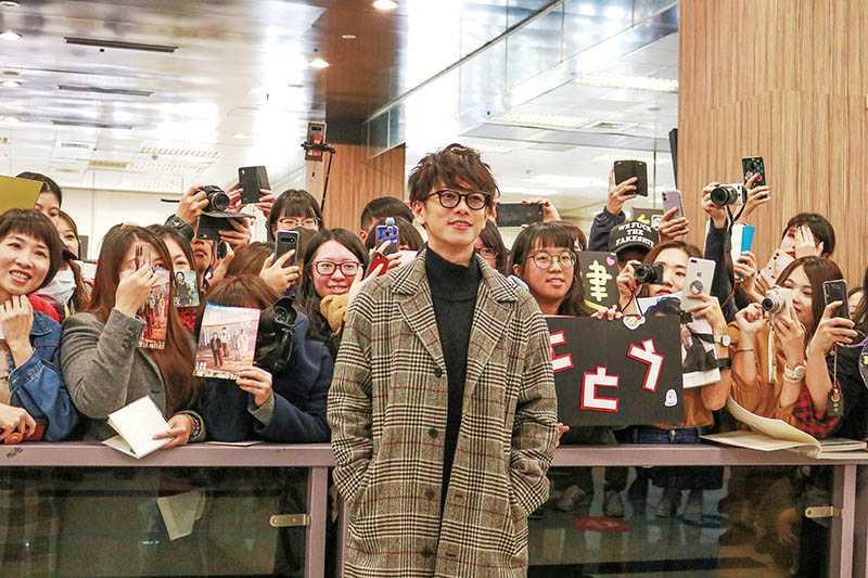 長相俊美的佐藤健,在台灣擁有大批粉絲。(圖/天馬行空提供)