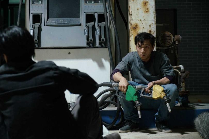 鄭人碩在《76号恐怖書店-飢餓》的演出相當吸睛。(圖/七十六号原子)