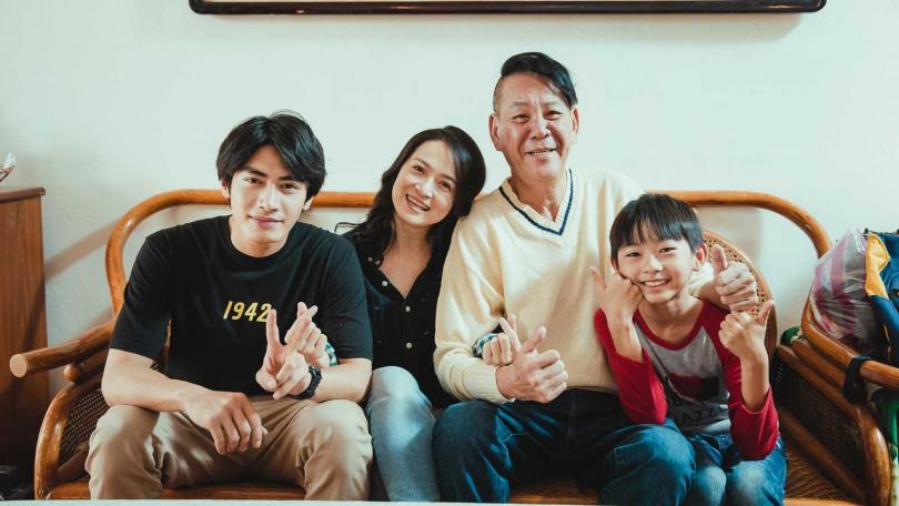 龍劭華、謝瓊煖演出《若是一個人》,與宋柏緯有精彩對戲。(圖/華視)