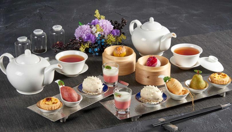 景、觀下午茶。(圖/SHIN PU YUAN新葡苑四十六提供)