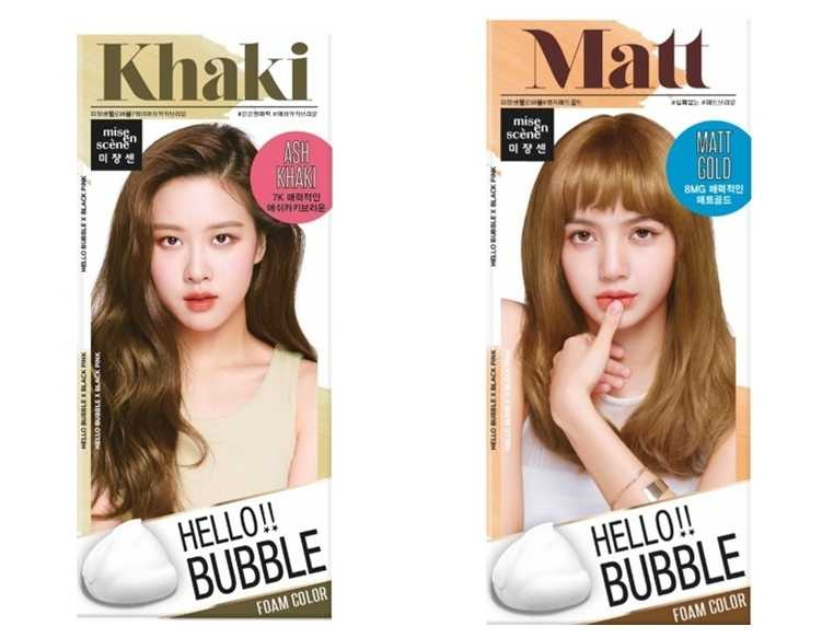 styletc小編特別推薦魅尚萱的「HELLO BUBBLE泡沫染髮劑」#灰卡其棕及#迷霧金兩款顏色,簡易三步驟自己在家DIY染出韓國大勢女神髮。(圖/品牌提供)