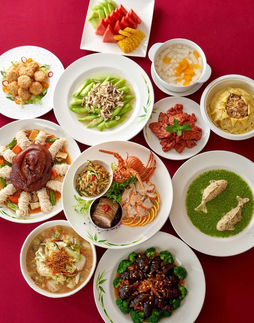 「蓬萊闔歡宴」每桌10位12800元。