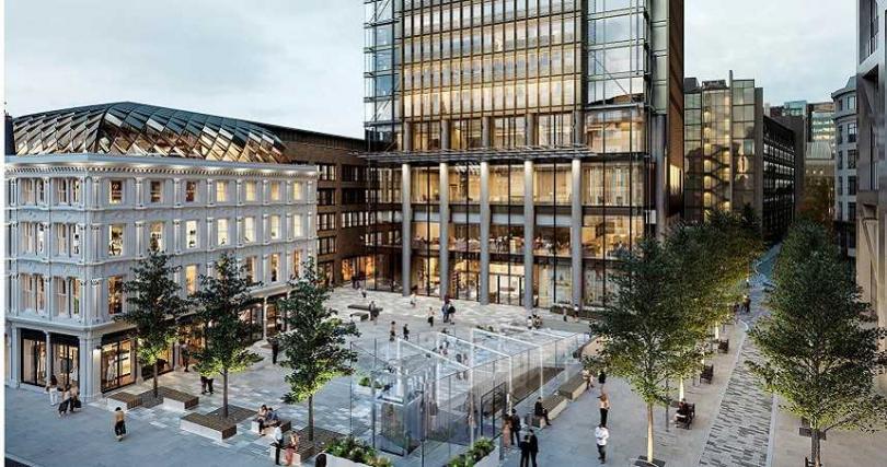 「倫敦泛太平洋酒店」距離地鐵站利物浦街站步行只需5分鐘。(圖/倫敦泛太平洋酒店提供)