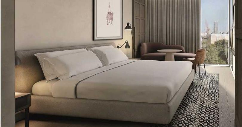 酒店除了呈現奢華感還以綠建築手法打造。(圖/The Londoner提供)