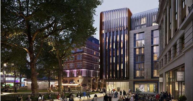 「The Londoner酒店」位於倫敦市心臟地帶。(圖/The Londoner提供)