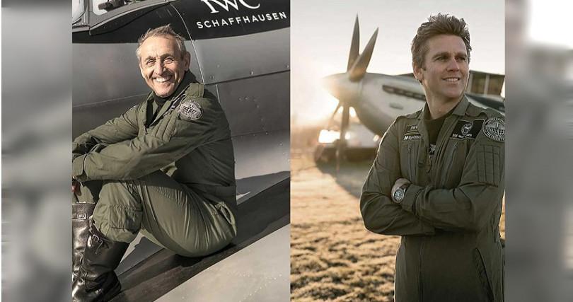 「銀焰」駕駛員Steve Boultbee-Brooks(左)和Matt Jones(右)
