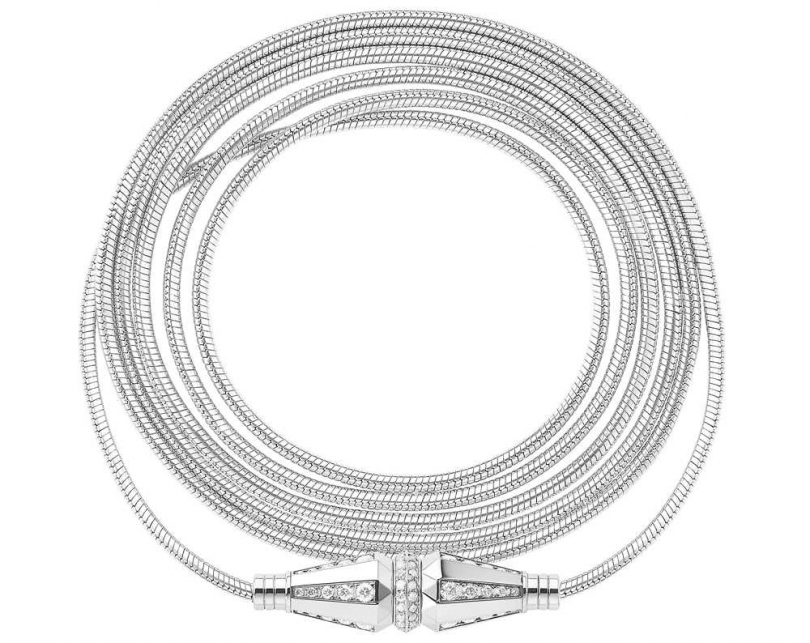 BOUCHERON「Jack系列」白金鑲鑽長鍊╱548,000元(圖片提供╱BOUCHERON)
