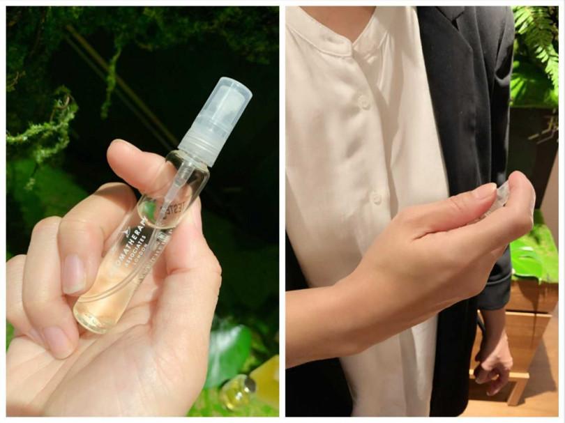 這次還有推出一款能夠直接噴灑在身體、衣物、寢具的心靈之沐舒緩噴霧,非常方便外出使用。(圖/吳雅鈴攝影)