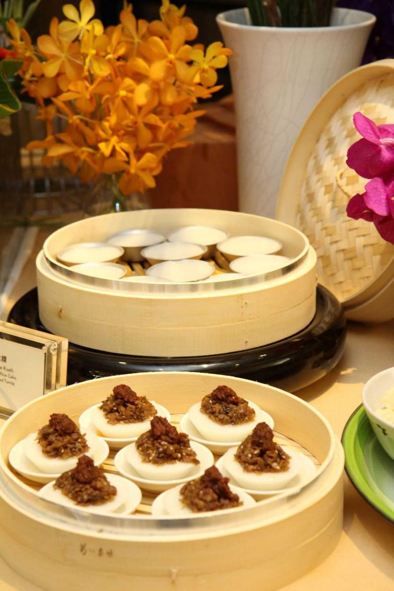 Q彈的「水粿」在每次咀嚼中散發淡淡米香。(圖/君悅酒店)