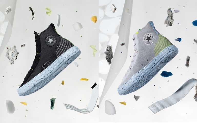 Converse Chuck Taylor All Star Crater系列鞋款 售價NT2,980,將於7月23日起於指定店點販售。(圖/Converse)
